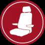 fotele maszynisty motorniczego