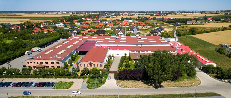 Astromal z lotu ptaka - Leszno - Wilkowice - firmy